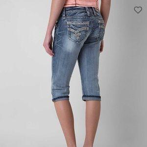 Rock Revival Easy Crop Light Jeans Sherry SZ 28